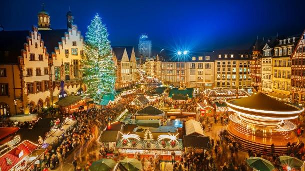 kerstmarkt in Duitsland